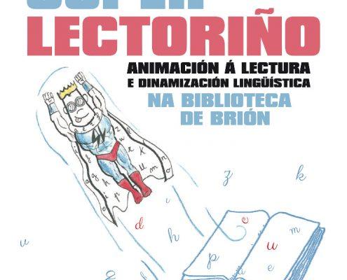 Superlectoriño na biblioteca de Brión